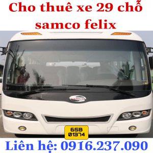 Thuê Xe 29 Chỗ Samco Felix