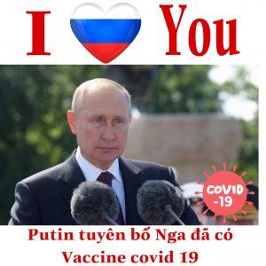 Cập nhật: Putin tuyên bố Nga đã có vaccine Covid-19
