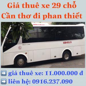 Thuê xe Cần Thơ – Phan Thiết