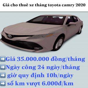Thuê Xe Toyota Camry 2019
