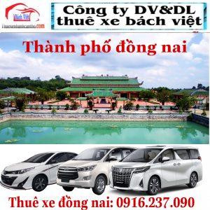 Thuê Xe Đồng Nai Biên Hòa
