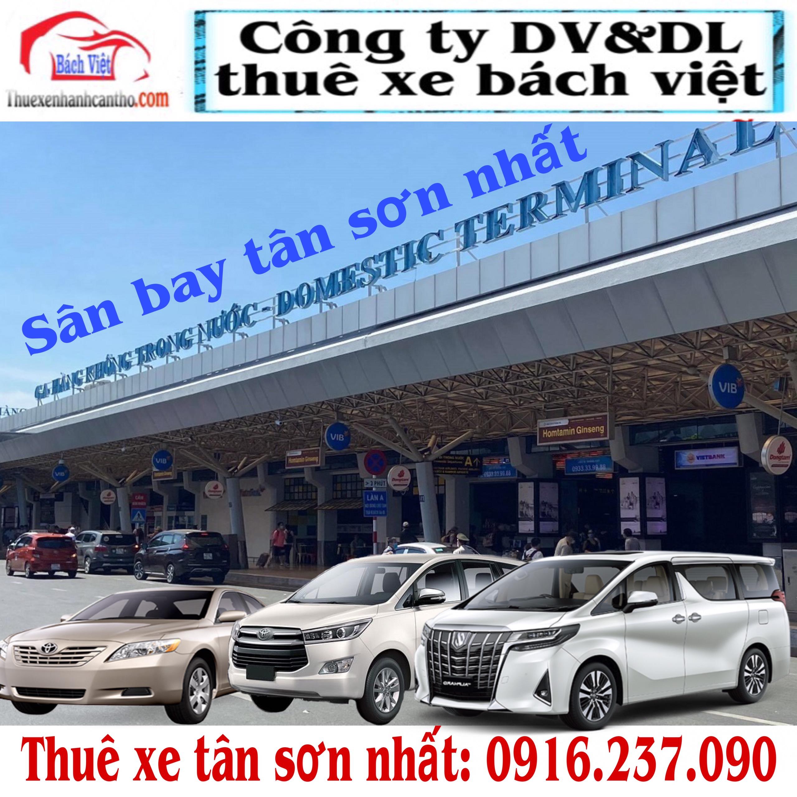 Thuê Xe Tân Sơn Nhất