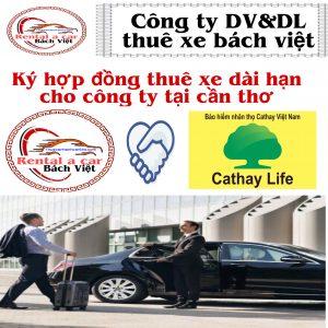 Ký hợp đồng thuê xe ô tô dài hạn cho công ty tại cần thơ